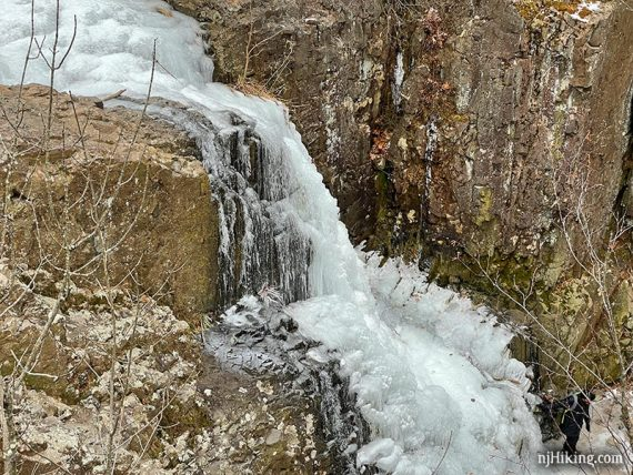 Frozen Hemlock Falls