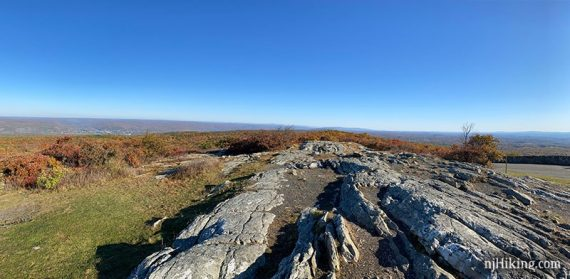 Panoramic view from High Point
