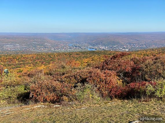 View over Pennsylvania from High Point