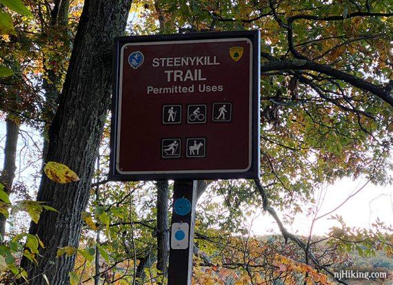 Steeny Kill Trail Sign