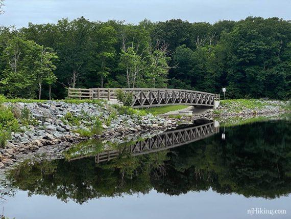 Bridge over the end of Saffin Pond