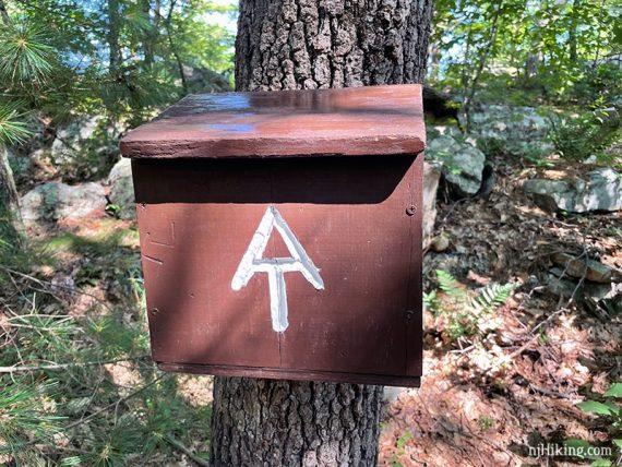 Appalachian Trail register box