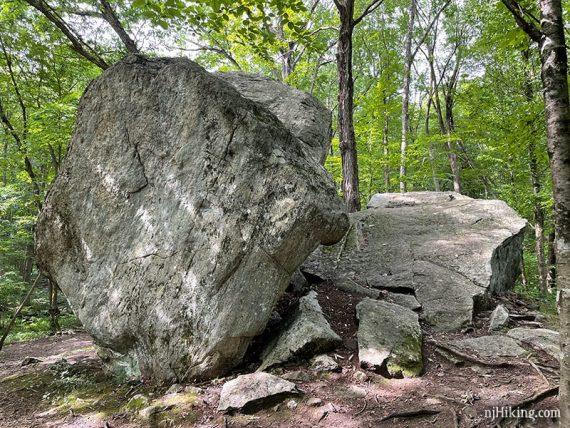 Back side of Bear Rock