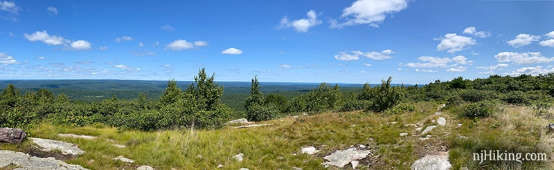 Panoramic view from Blue Mountain