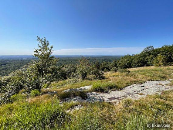 Rocky ridge of the Appalachian Trail.