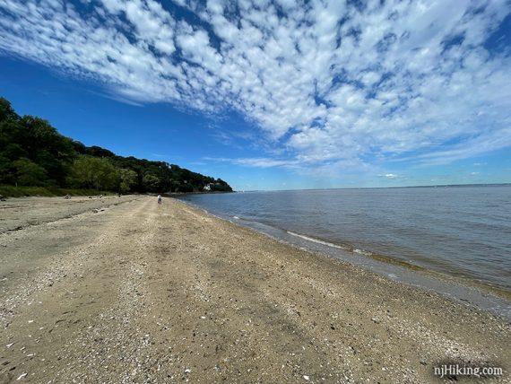 Beach at Popamora Point