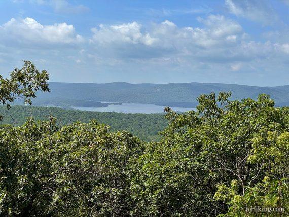 View of Wanaque Reservoir.