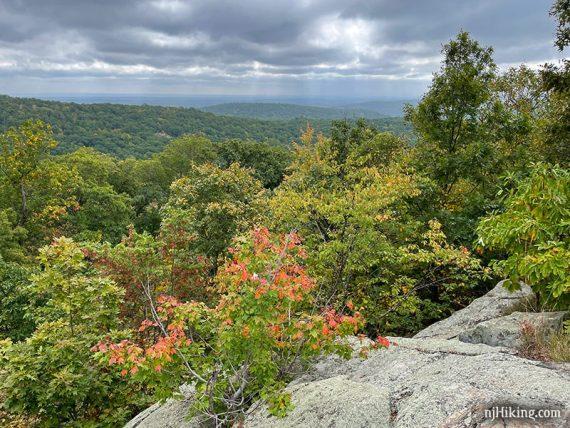 View from Ilgenstein Rock